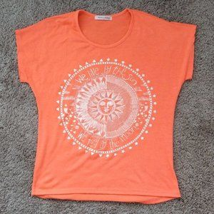Super Soft Sun Moon Rhinestone Tee
